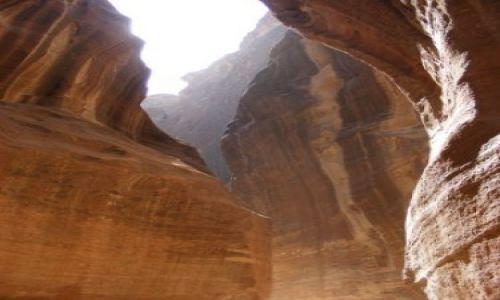 Zdjecie JORDANIA / brak / Kanion Wadi Musa / Kanion