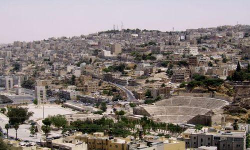 Zdjęcie JORDANIA / brak / Amman / Panorama Ammanu