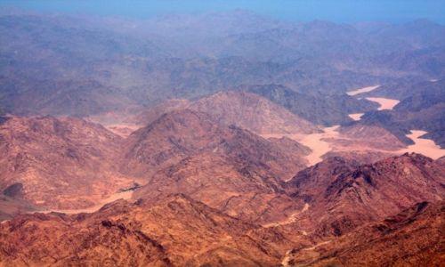 Zdjecie JORDANIA / Jordania / Jordania / Widok z nieba