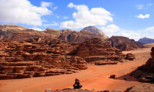 Zdjecie JORDANIA / Wadi Rum / Wadi Rum / Jak dla mnie jedna z piękniejszych pustyń jakie widziałam