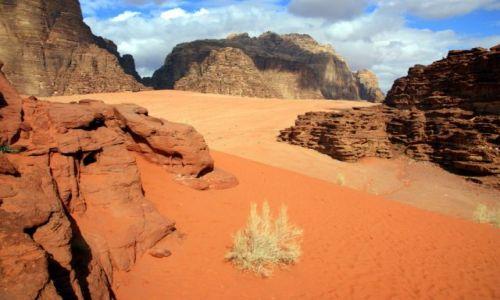 Zdjecie JORDANIA / Wadi Rum / Wadi Rum / Te kolory...