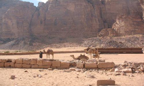 Zdjecie JORDANIA / brak / Wadi Rum / Obóż na pustyni