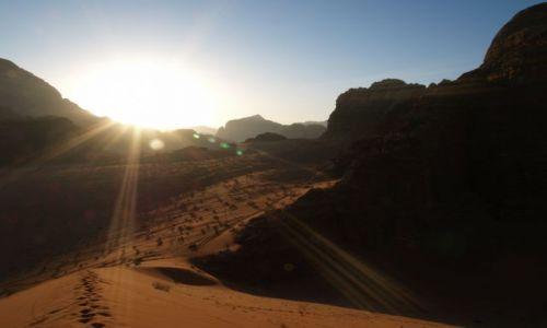 Zdjęcie JORDANIA / brak / Jordania / Pustynia / Wadi Rum