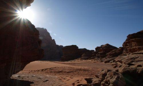 Zdjecie JORDANIA / brak / Jordania / Pustynia / Wadi Rum