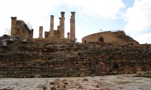 Zdjęcie JORDANIA / Jarash / Jarash / Świątynia Zeusa