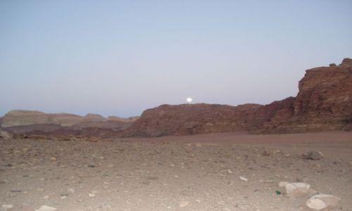 Zdjęcie JORDANIA / Aqaba / Wadi Rum / Wadi Rum po zachodzie słońca