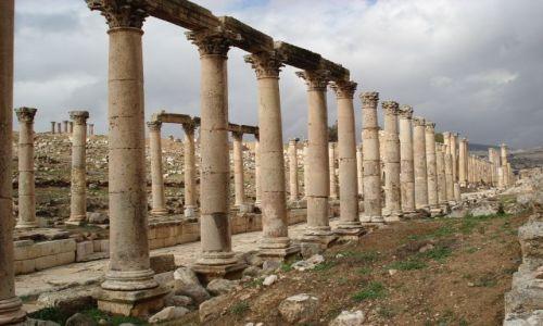 Zdjęcie JORDANIA / Jarash / Jarash / Trochę jak w Palmyrze ...