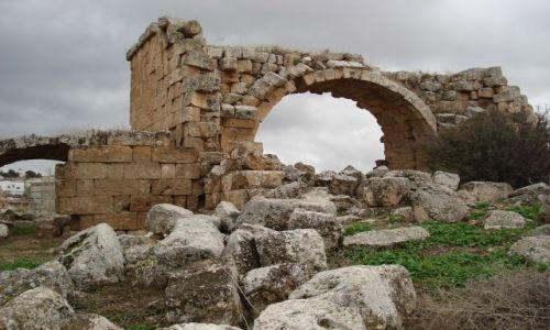 Zdjęcie JORDANIA / Jarash / Jarash / Ruiny miejskich łażni