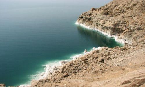 Zdjecie JORDANIA / - / Morze Martwe / Sól