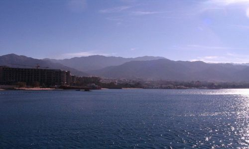 JORDANIA / Morze Czerwone / Zatoka Akaba / Jordania z Zatoki Akaba