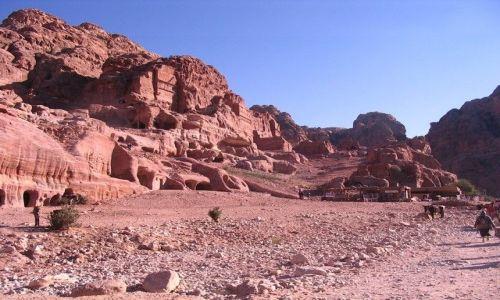 Zdjęcie JORDANIA / pld-zach Jordania / Petra / krajobraz Petry