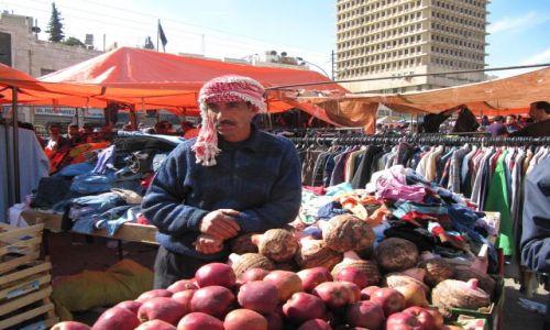 Zdjęcie JORDANIA / Amman / Targowisko / Pyszne owoce
