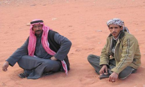 Zdjęcie JORDANIA / Wadi Rum / Pustynia / Beduini
