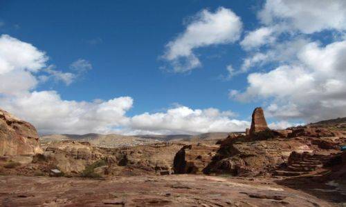 JORDANIA / Petra / Dolina Petry / Miejsce kultu