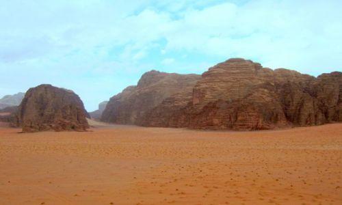Zdjecie JORDANIA / Wadi Rum / pustynia / Pustynia
