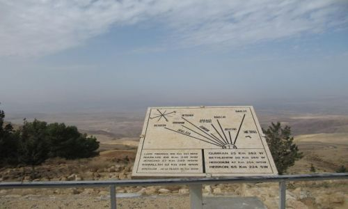 Zdjecie JORDANIA / Ok Ammanu / Góra Nebo /  Widok z Góry Nebo