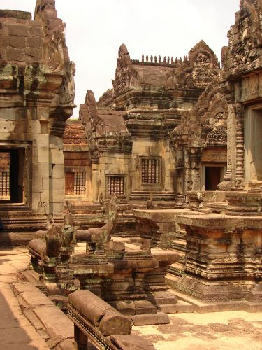 Zdjęcia: Angkor - świątynia Banteay Srei, Twierdza Kobiet , KAMBODżA