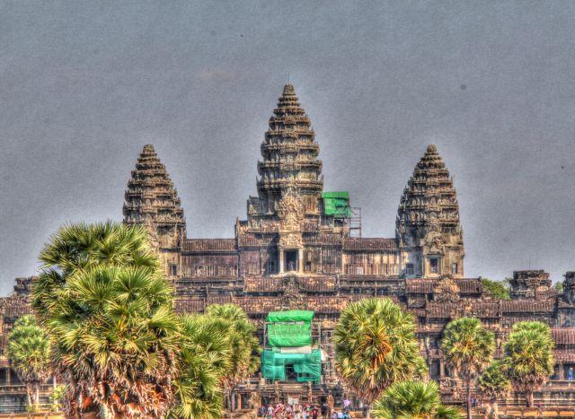 Zdjęcia: Angkor Wat, Siam Reap, Symbol Kambodży, KAMBODżA