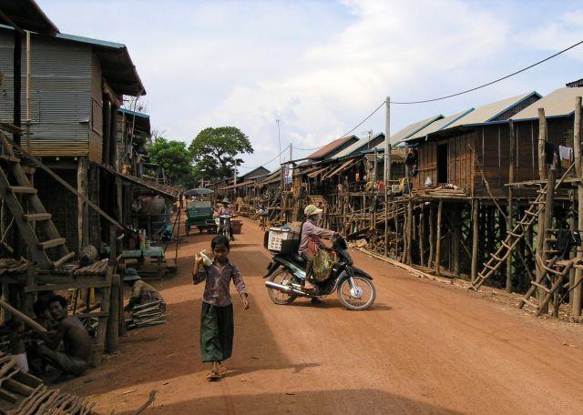 Zdjęcia: okolice Beng Mealea, wieś, KAMBODżA