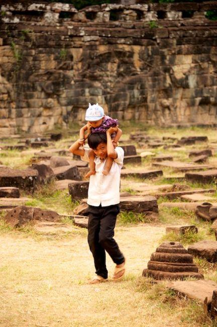 Zdjęcia: Siem Reap, Dzieci (Cambodia), KAMBODżA