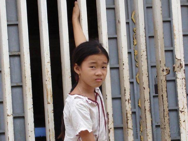 Zdj�cia: wschodnia czesc kraju , dziewczynka, KAMBOD�A