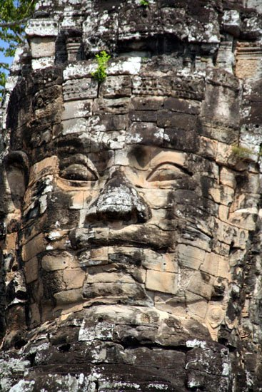 Zdjęcia: angkor, angkor - św.Bayon, KAMBODżA