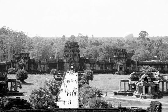 Zdjęcia: angkor, widok z angkor wat, KAMBODżA