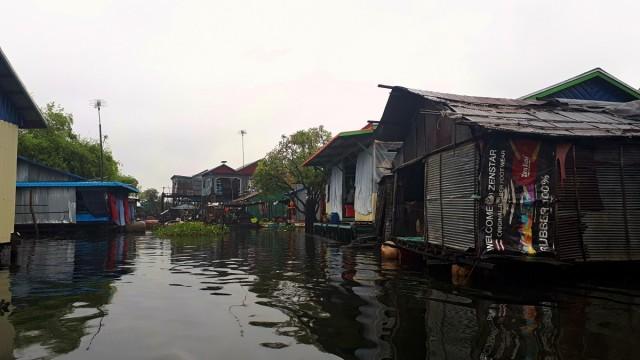 Zdjęcia: jezioro Tonle Sap, jezioro Tonle Sap, Pływające wioski, KAMBODżA