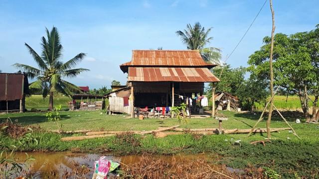 Zdjęcia: okolice Kampotu, okolice Kampotu, Kambodżańska wieś, KAMBODżA