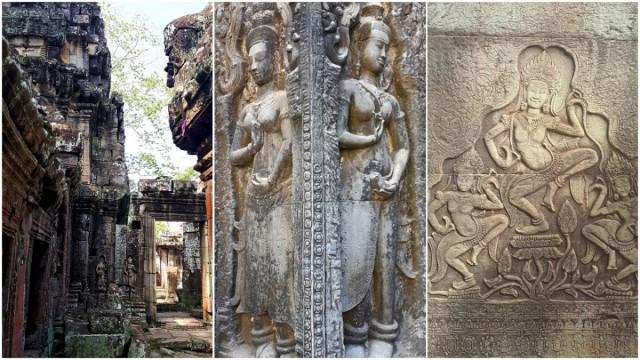 Zdjęcia: Angkor, okolice Siem Reap, Urzekające piękno Angkor, KAMBODżA
