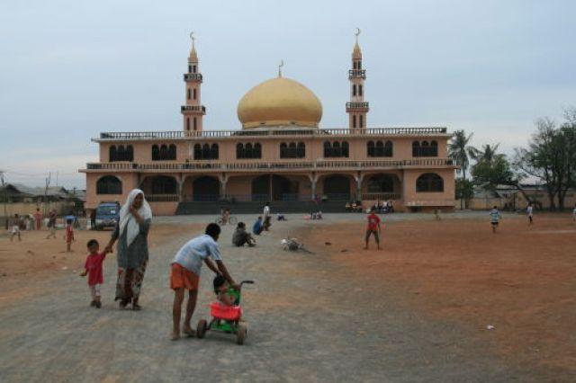 Zdjęcia: Phnom Penh, Meczet, KAMBODżA