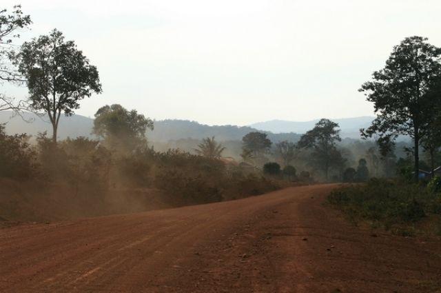 Zdjęcia: Mondulkiri, Droga, KAMBODżA