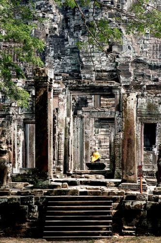 Zdjęcia: Angkor, Bayon, KAMBODżA