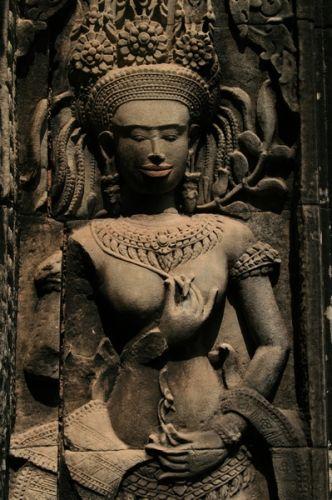 Zdjęcia: Angkor, Apsara, KAMBODżA