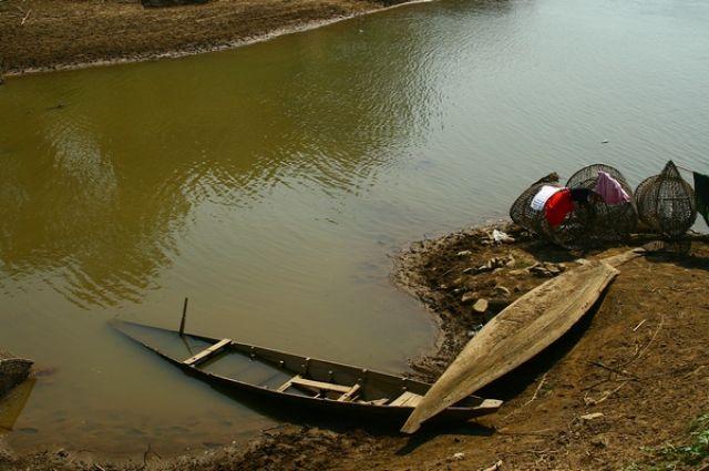 Zdjęcia: Kratie, kąpielisko, KAMBODżA