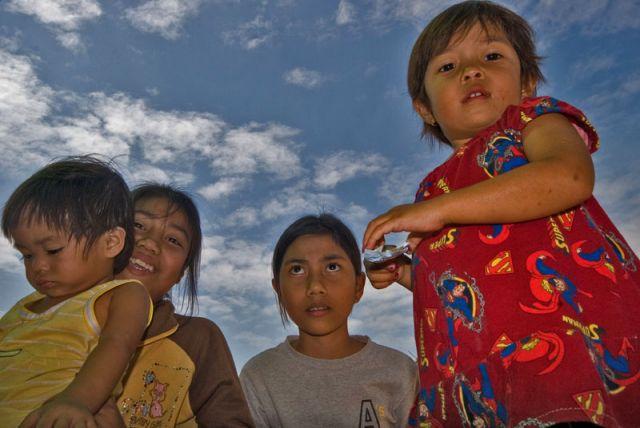 Zdjęcia: Cho Hang, Dzieciaki z Cho Hang, KAMBODżA