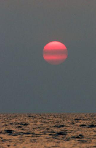 Zdjęcia: Zachód nad SIHANOUKVILLE, * * *, KAMBODżA