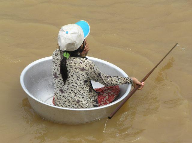 Zdjęcia: Tonle Sap, Siem Reap, najważniejsza jest pomysłowość, KAMBODżA