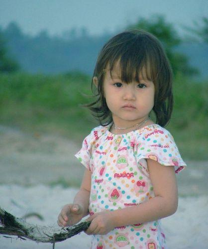 Zdjęcia: południe Kambodży, Dziewczynka, KAMBODżA