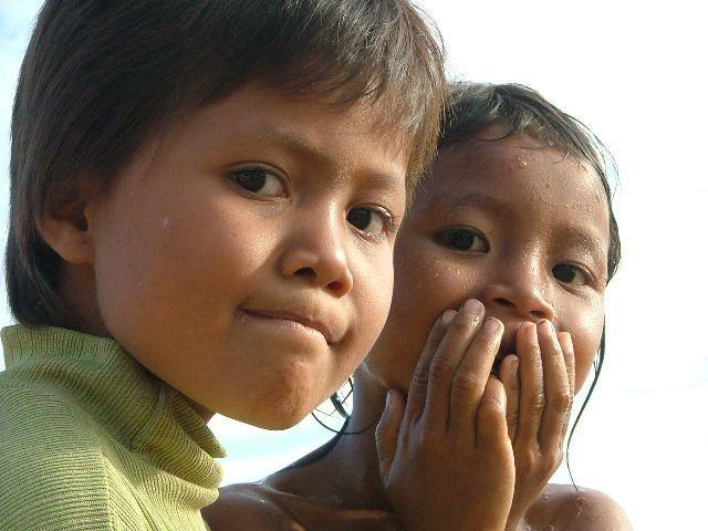 Zdj�cia: p�noc Kambod�y, Dzieci, KAMBOD�A