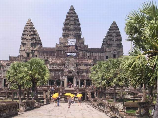 Zdjęcia: Angkor, Siem Reap, Angkor Wat, KAMBODżA