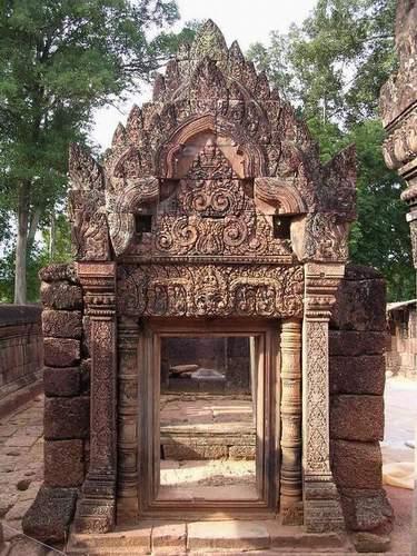 Zdjęcia: Angkor, Siem Reap, Banteay Srei, KAMBODżA