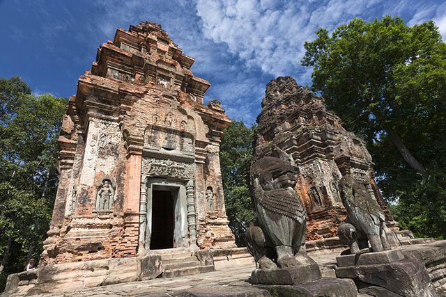 Zdjęcia: Phumĭ Lôlum, Khétt Siĕm Réab, Prasat Preah Ko, KAMBODżA
