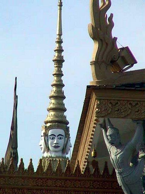 Zdj�cia: Phnom Penh, Palac Krolewski, KAMBOD�A