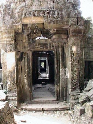 Zdjęcia: Swiatynie Angkor, PreahKhan, KAMBODżA