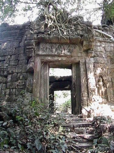 Zdjęcia: Swiatynie Angkor, Swiatynia PreahKhan, KAMBODżA