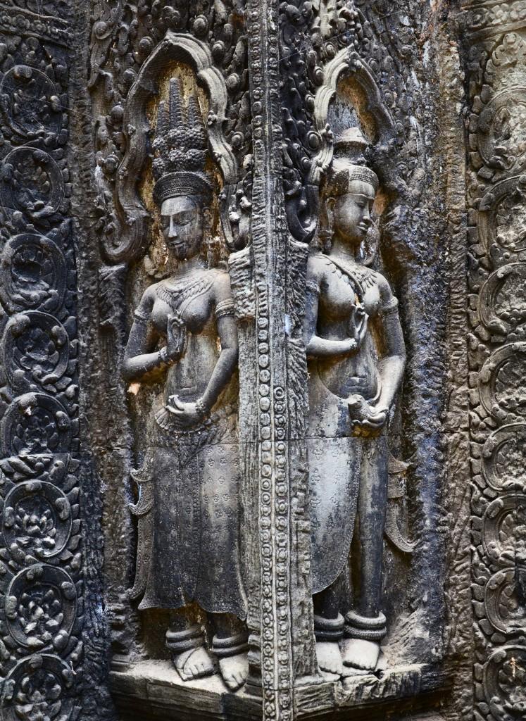 Zdjęcia: Angkor , Siem Reap, w krainie Khmerów..., KAMBODżA