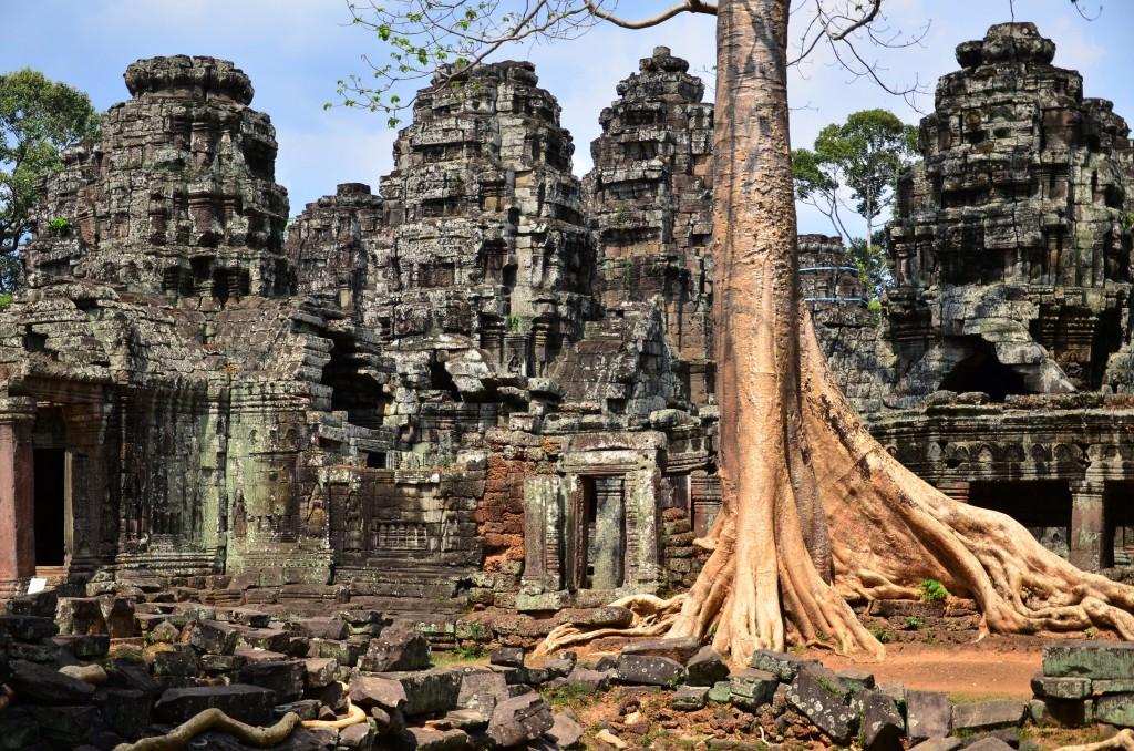Zdjęcia: Angkor, Siem Reap, w krainie Khmerów..., KAMBODżA