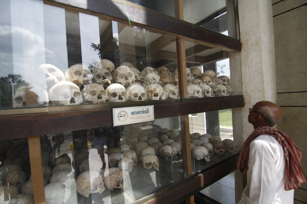 Zdjęcia: Phnom Penh, Pola Śmierci, KAMBODżA