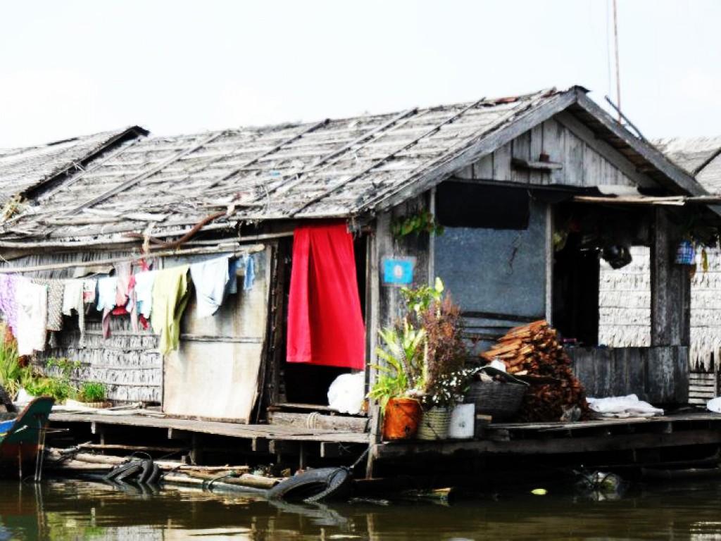 Zdjęcia: nieopodal, Krong battambang, Wodna wioska 4, KAMBODżA